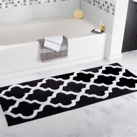 lavish home trellis cotton bath mat reviews wayfair