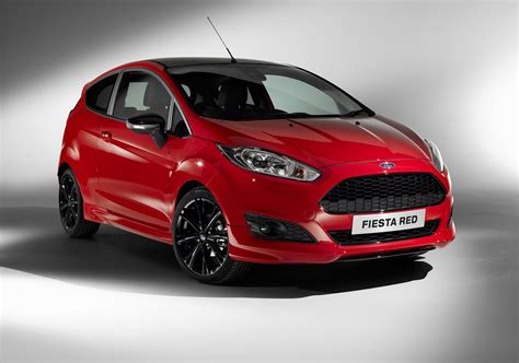 Ford Fiesta Zetec Red And Black Edition