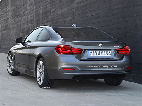 Bmw 4 Series New Model by Bmw 4 Series Coupe Gets Digital Lci Treatment Carscoops