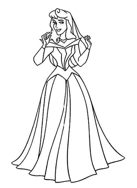 aurora princess coloring pages az coloring pages