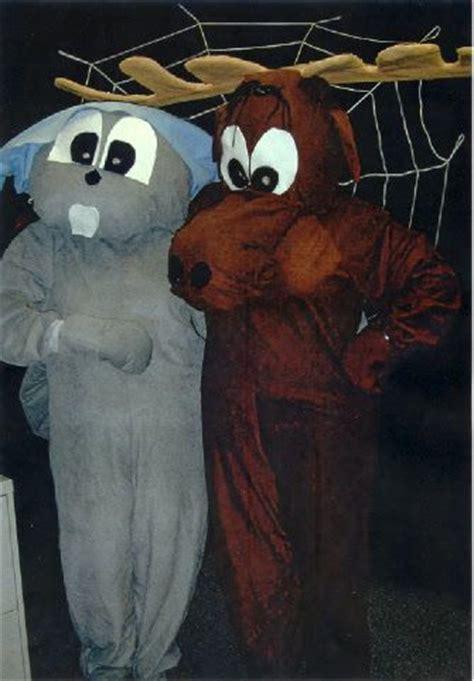bernina halloween  rocky  bullwinkle costumes