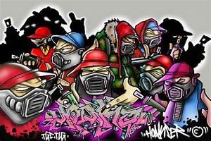 Gangster Graffiti Wallpaper | latest-wallpaper