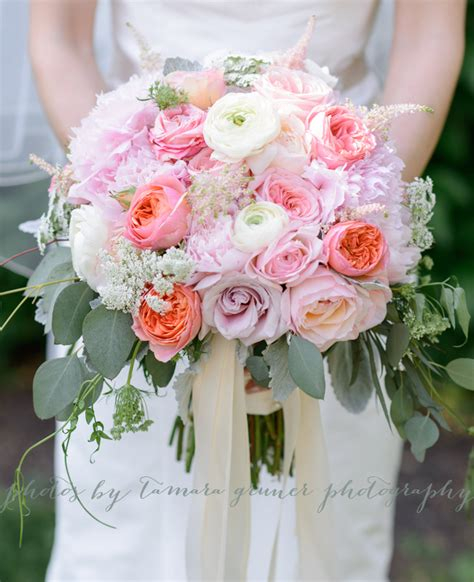 kio kreations 187 pink blush and ivory bridal bouquet