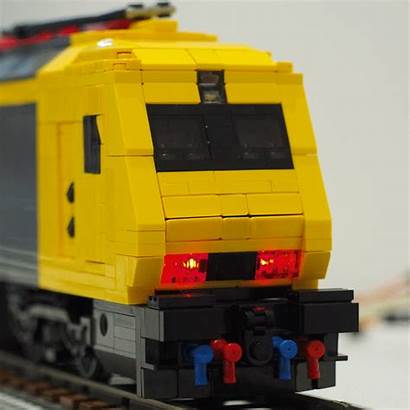 Renfe V2 Lego Album Locomotive