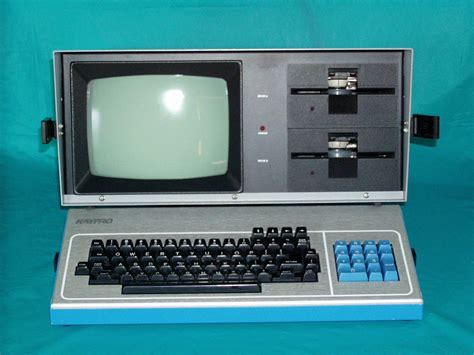 kaypro screen front computer computers punk phosphor bit 1000 ii which 1000bit does