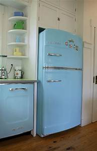 50's Retro Refrigerator and Vintage Appliances
