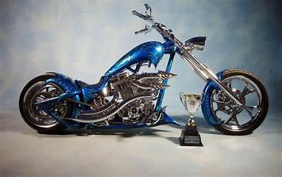 Chopper Custom Wallpapers Motorcycle Choppers Bike Bikes