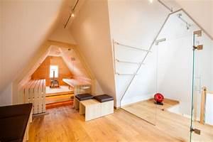Sauna Unter Dachschräge : pressenachricht sauna in dachschr ge mit glasfront ~ Sanjose-hotels-ca.com Haus und Dekorationen