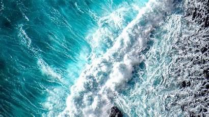 Ocean Wave Water Surf Aerial Foam Laptop