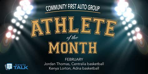 community  auto group february athletes   month