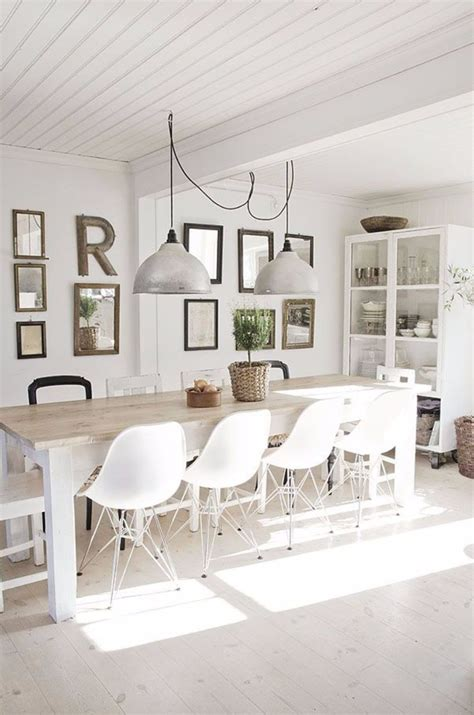 contemporary white dining rooms modern dining tables