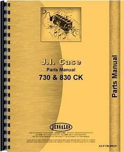 Case 734 Tractor Parts Manual