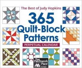 Calendar Quilt Block Patterns