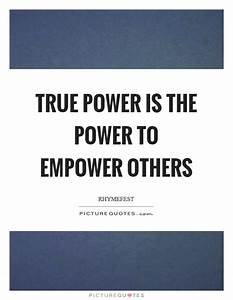 True power is t... Fitness Empowerment Quotes