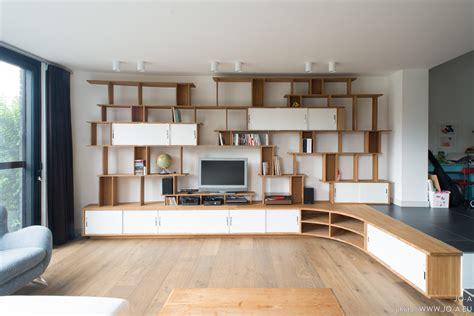 meuble de bureaux grande bibliothèque meuble tv jo a côté maison