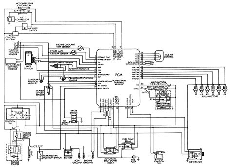 1991 Jeep Fuel Injection Wiring Diagram repair guides multi point fuel injection mfi system
