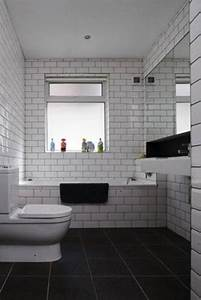 26 white bathroom tile with grey grout ideas and pictures With white bathroom tiles with black grout