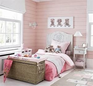 Idee Deco Chambre Petite Fille : id e d co dix chambres roses de petite fille ~ Zukunftsfamilie.com Idées de Décoration