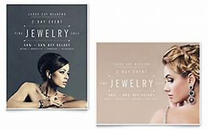 Customizable Planner Template Jeweler Jewelry Store Flyer Ad Template Design