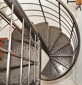 Escalier Helicoidal Exterieur Prix : escalier colima on en m tal laqu casting escaliers l ~ Premium-room.com Idées de Décoration