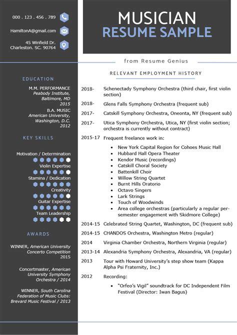 resume sample writing tips resume genius