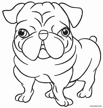 Puppy Coloring Printable Pages Puppies Printables Cool2bkids