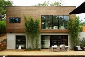 maison bois contemporaine cap ferret cap ferret a un fil With moulin en pierre pour jardin 4 decoration en pierre pour la maison deco jardin terrasse