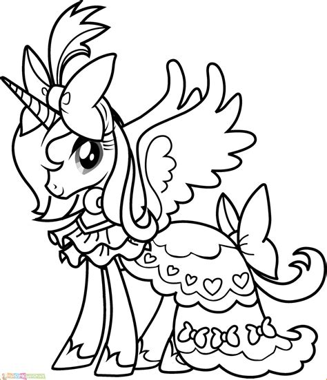My little pony adalah sebuah film animasi yang berkisah tentang kehidupan pada kuda yang cantik dan lucu. √29 Gambar Mewarnai My Little Pony Anak 2020 - Marimewarnai.com
