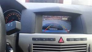 Rear Parking Camera On Opel Astra H Caravan