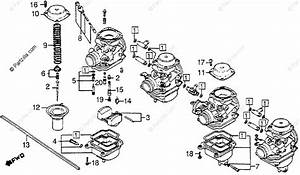 Honda Motorcycle 1983 Oem Parts Diagram For Carburetor