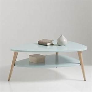 Table Basse Scandinave Bleu : table basse vintage double plateau jimi la redoute interieurs prix avis notation ~ Teatrodelosmanantiales.com Idées de Décoration