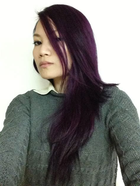 Eggplant Salonfree Hairdye Haircolor Colorhair