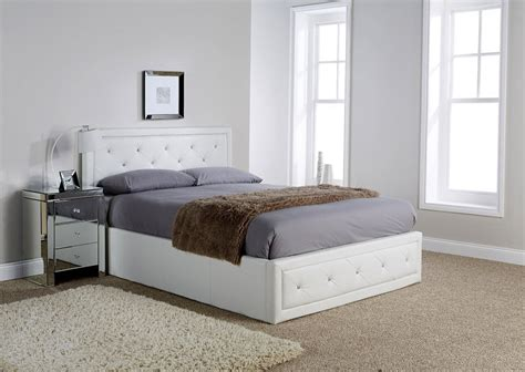White Ottoman Bed Small by King Florida White Ottoman Bed Frame Dublin Beds