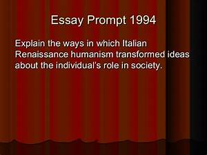 Renaissance Humanism Essay Renaissance Humanism Essay Examples  Good Behavior Essay Sample Of A Personal Statement Elie Wiesel Essay Paper  To Write Letters Renaissance Humanism  Sample Essays For High School Students also Home Work For You  Reflective Essay On High School