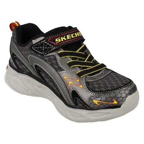 skechers light up boys skechers light up trainers rayz ebay