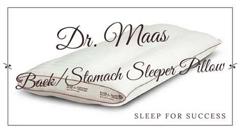sleep for success pillow why this pillow is the top pillow for neck