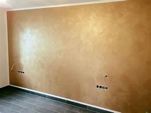 Wand Metallic Effekt : die besten 17 ideen zu tapete gold auf pinterest goldene tapeten geometric patterns und ~ Sanjose-hotels-ca.com Haus und Dekorationen