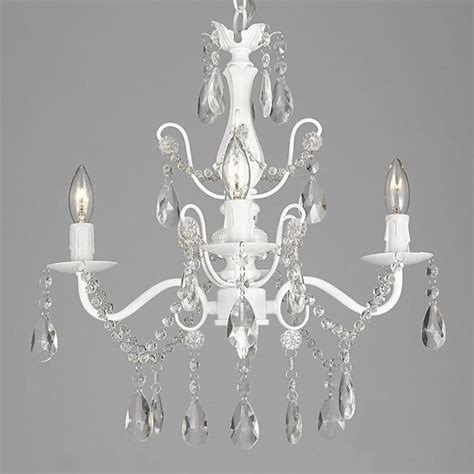 1000 ideas about white chandelier on