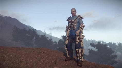 rust character female models ign getting dark months years