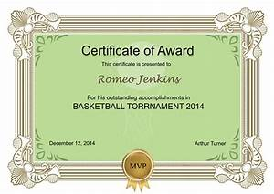 certificates templates sample design excellent With publisher award certificate templates