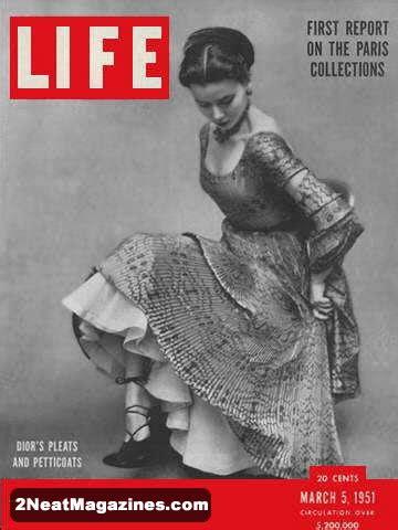 sale life magazine march   paris fashions