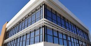 Brise Soleil Horizontal : brise soleil aluminium tanagra mur rideau alu ~ Melissatoandfro.com Idées de Décoration