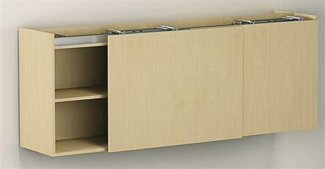 sliding cabinet door systems bottom running track set for two doors for flush sliding