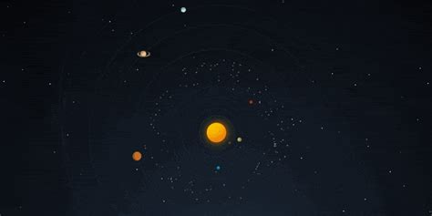 pure css solar system animation codemyui