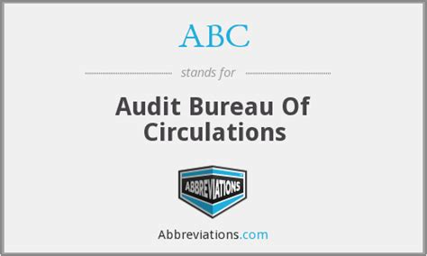 abc audit bureau of circulations