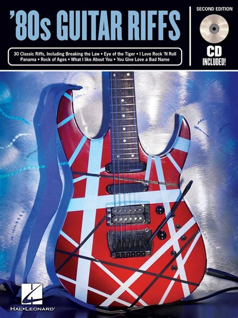 RIFF NOTES 80S GUITAR RIFFS BK/CD 2ND EDITION