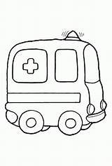 Ambulance Coloring Pages Printable раскраски для Vehicles Safety малышей Fire Colouring Drawing Clipart Pins Cars Popular Wheels Draw Many Vehicle sketch template