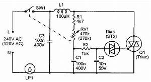 triac principles and circuits part 2 nuts volts magazine With 120v ac lamp dimmer