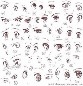 Draw Cute Anime Eyes 14. How To Draw Anime Eyes - Drawings ...