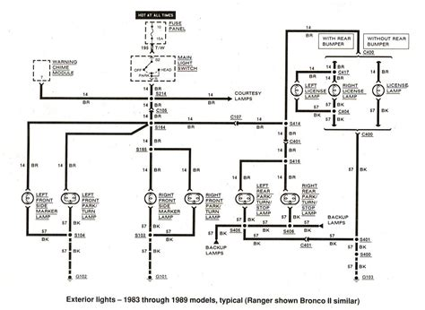 auto wiring diagram   ford ranger exterior